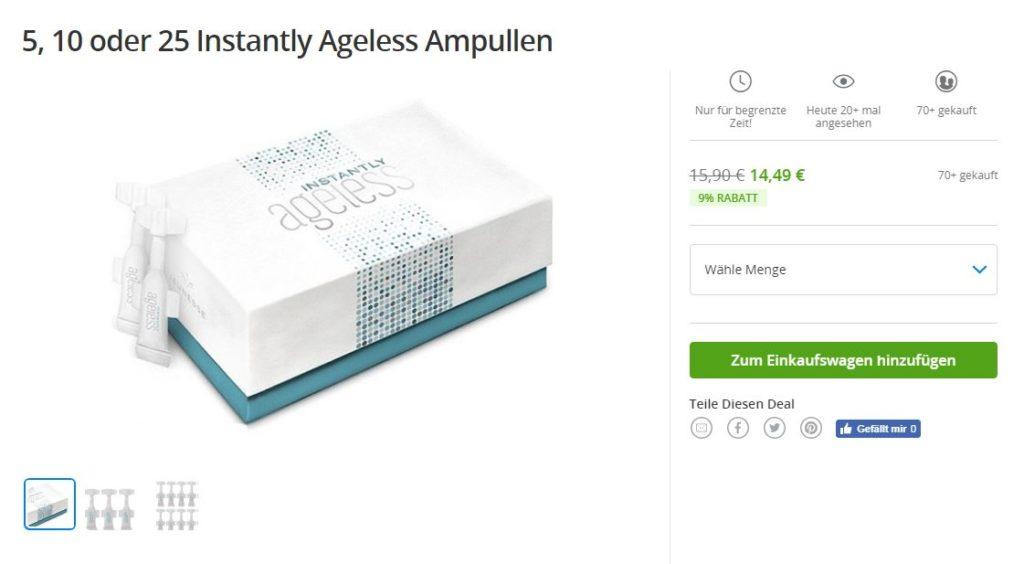 Instantly Ageless Kaufen